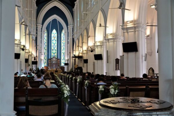 Saint Andrew's Cathedral is an Anglican cathedral in Singapore, the country's largest cathedral.
